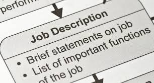 what Job description