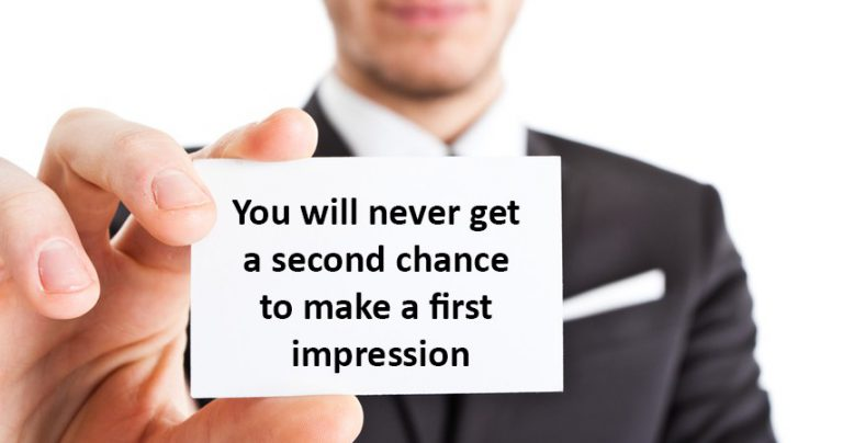 what the first impression